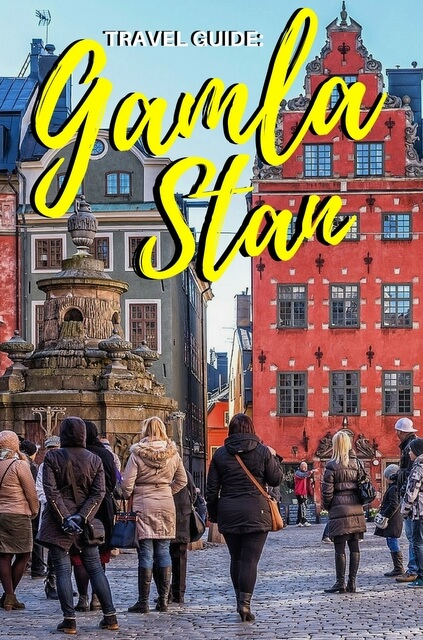 A trip to Stockholm isn't complete without a trip to Gamla Stan.
