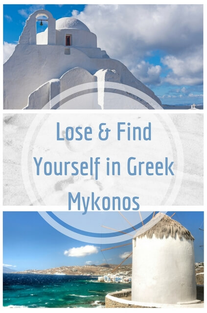 Mykonos is the ideal place where you can lose yourself on its surface and also find it in its depth.