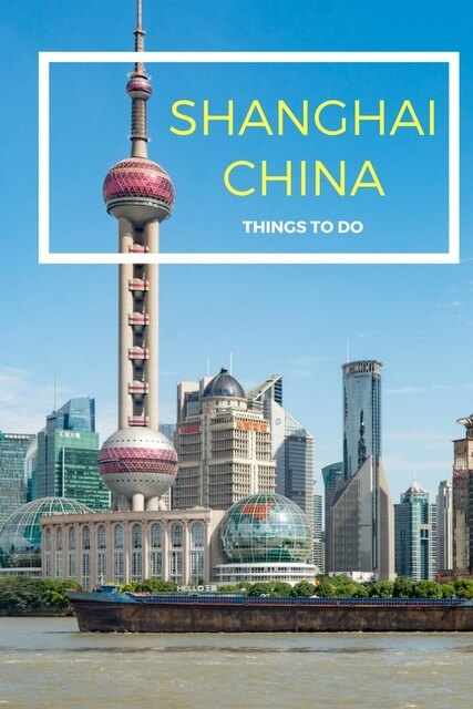 The following are things to do in Shanghai for every interest – great ideas for your itinerary no matter what you like to do!