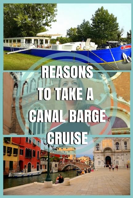 While there are many reasons to take a canal barge cruise, here are the 6 most compelling.