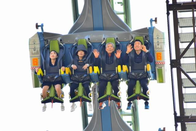 Family rollercoaster in Japan