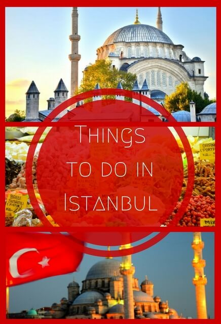 A guide to the highlights of visiting #Istanbul on both the European and Asian sides; this is a city where two continents collide! #Turkey