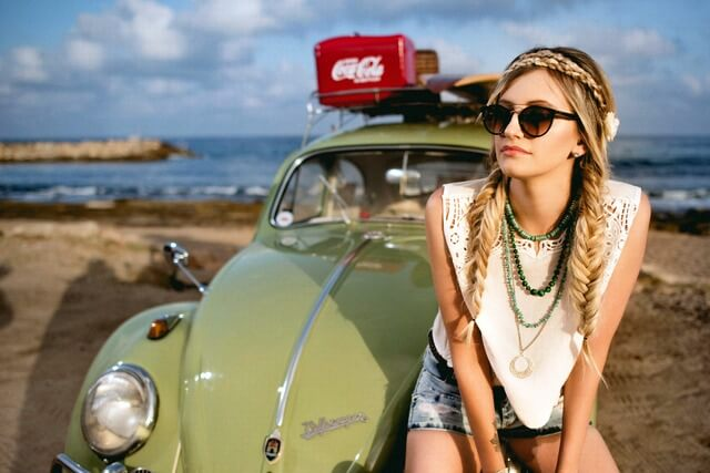 Traveler safari sunglasses beach