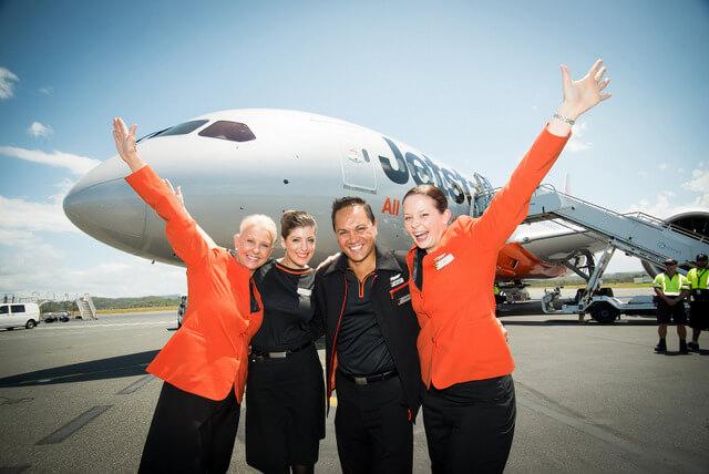 Jettar Australia flight plane