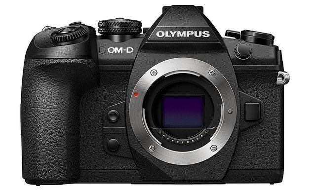 Olympus OM-D E-M1 Mark II Camera Body Only, 20.4 mega pixel with 3-Inch LCD, Black