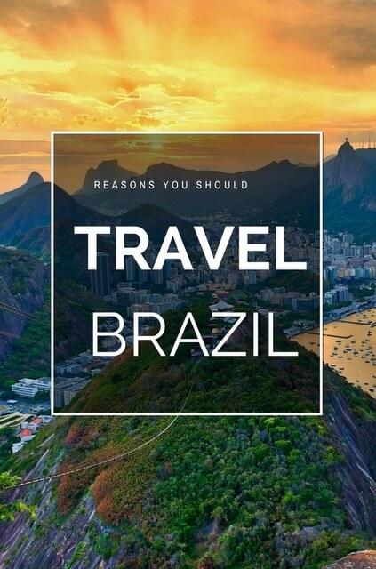 Reasons to visit Brazil