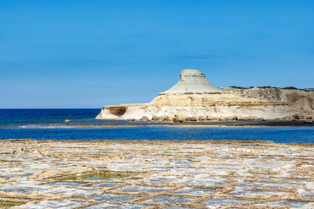 Qbajjar Bay, Gozo