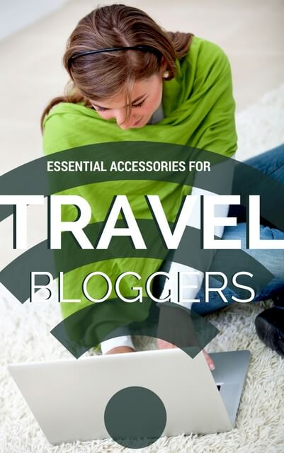Accessories for travel bloggers
