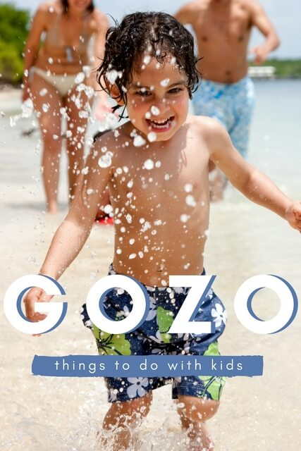 Things to do in Gozo with Kids