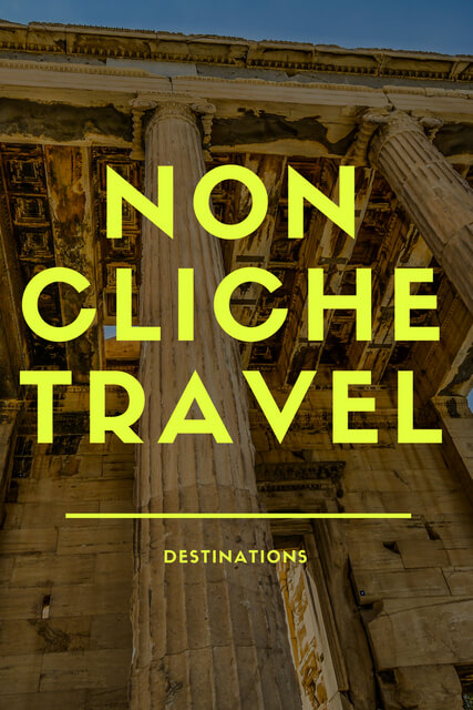 Have you ever dreamed of traveling somewhere that isn't associated with a hundred different hashtags? The following are 5 destinations that are non-cliche.
