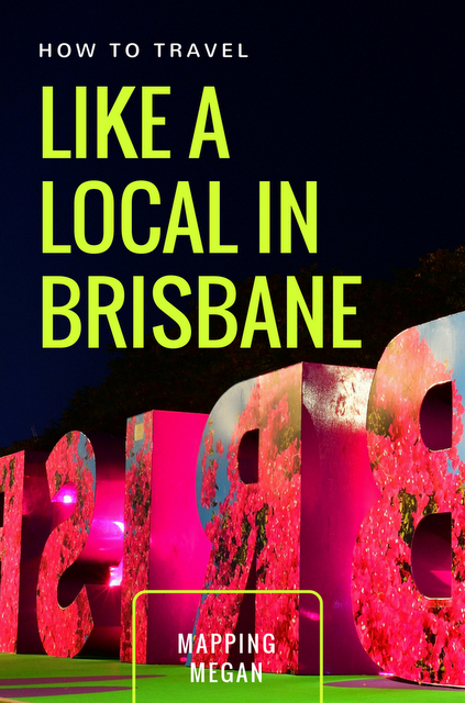 Things to do in Brisbane Australia - how to travel like a local, from the city to beautiful places like Southbank and the beach. #Queensland