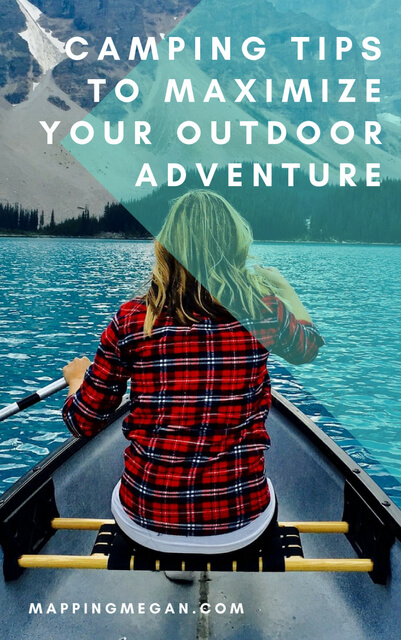 Check out these camping hacks and ideas for maximizing your outdoor experience. Click through for camping tips!