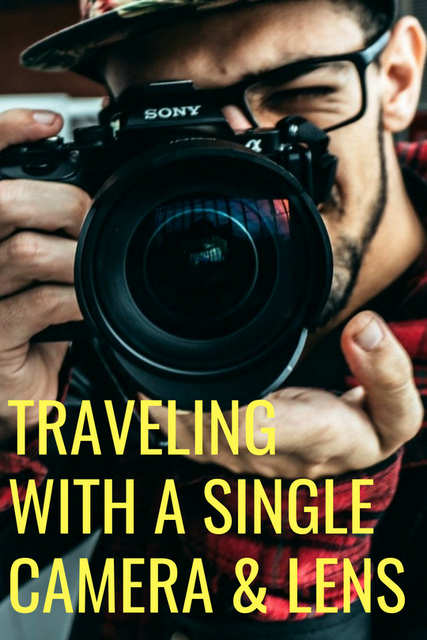 You don't need a collection of camera equipment to document a travel experience in the best way. These are the advantages of traveling with the one camera.