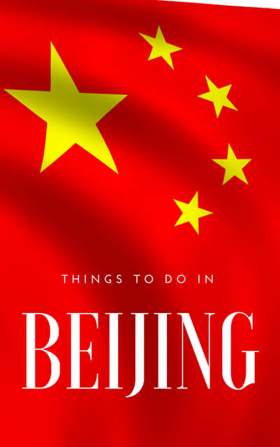 When it comes to things to to in Beijing China, there is of course the Great Wall and the Forbidden City, but click through to this post for a travel guide of more bucketlist things to do.