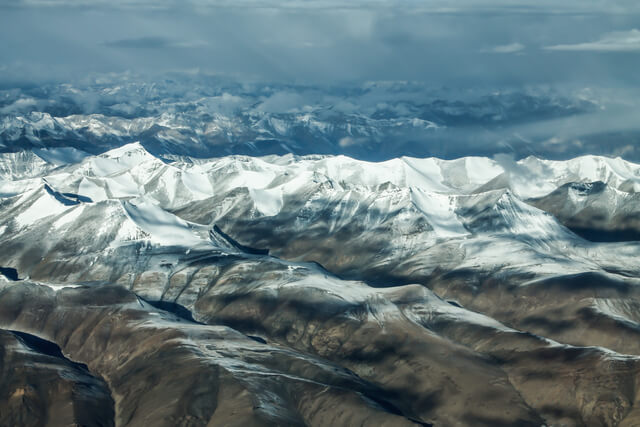 Ladakh view above