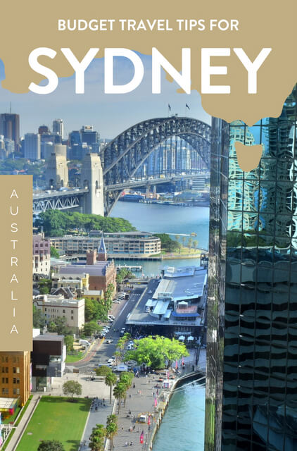 If you're hoping to visit Sydney on a budget, use this travel guide for our best budget travel tips.