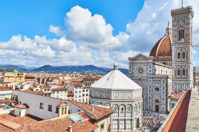 The beautiful Cattedrale di Santa Maria del Fiore