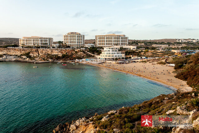 Golden bay best beaches in Malta