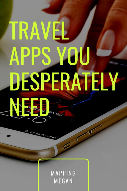 There are many mainstream apps that almost every traveler has. But by the same token there are also a range of apps that you may not have realized you need!