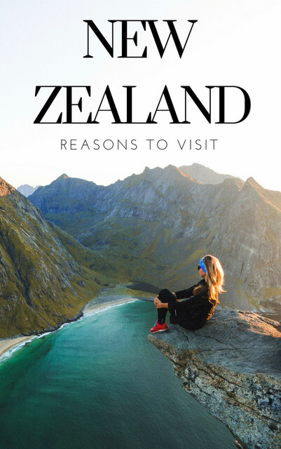 There are hundreds of reasons to add New Zealand to your travel bucket list. Still need convincing? Here are a few highlights.