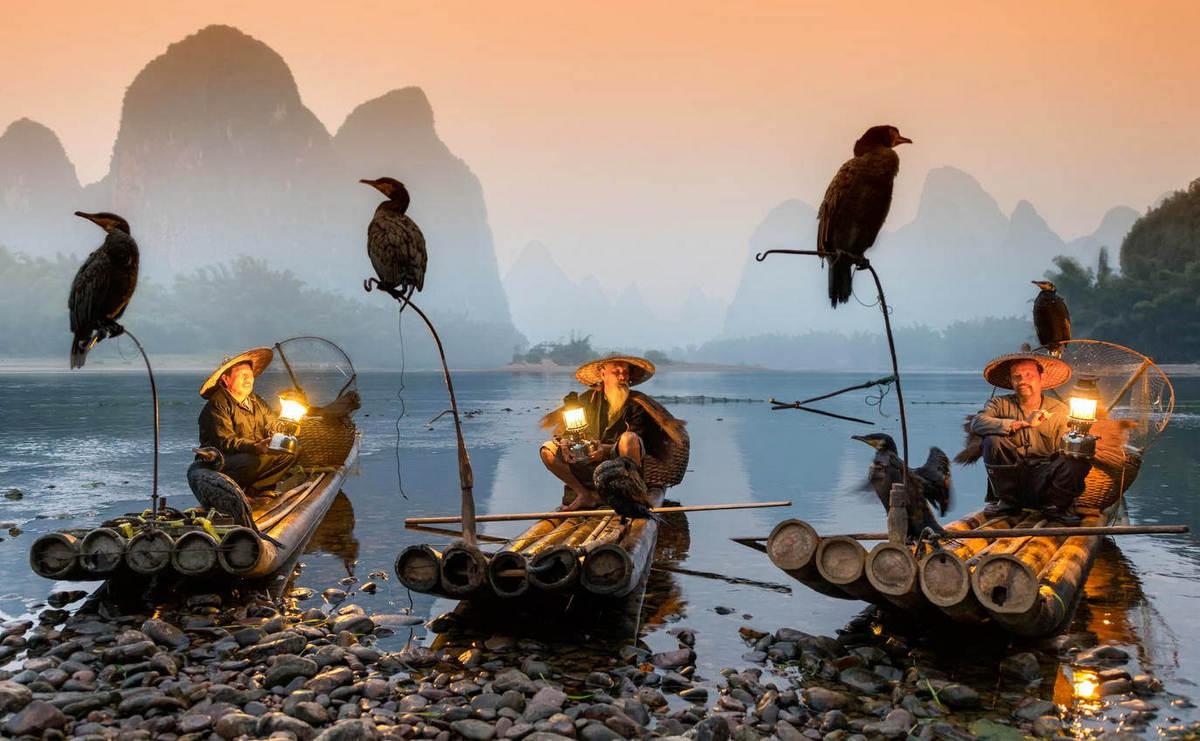 China Bamboo Rafting