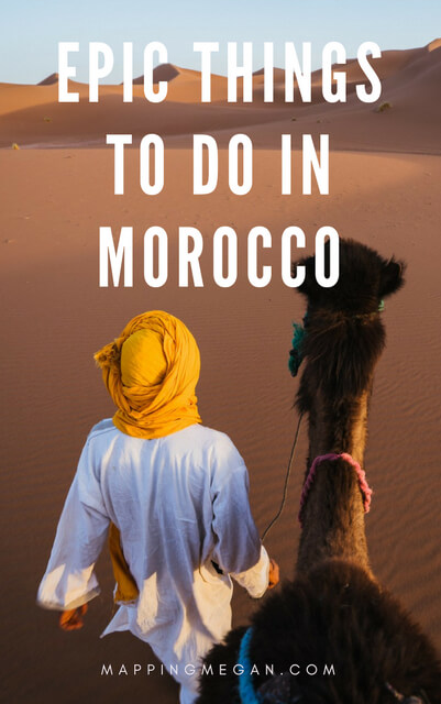 Thinking about Morocco travel? Check out these things to do; an adventure guide including destinations like chefchaouen and Fes; make sure you add these to your itinerary!