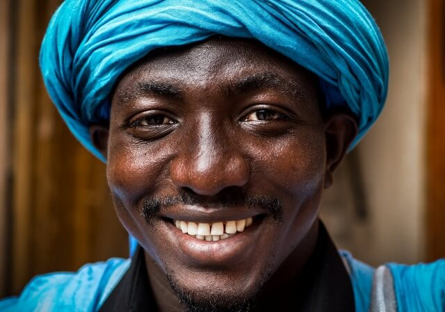 African Man RF