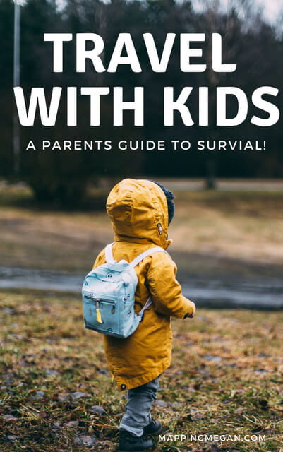 Whether you're in a car or on a plane, if you're thinking about international travel with kids, you need to read these tips. Covers packing hacks and general planning tips; a parents guide to how to survive travel with kids!