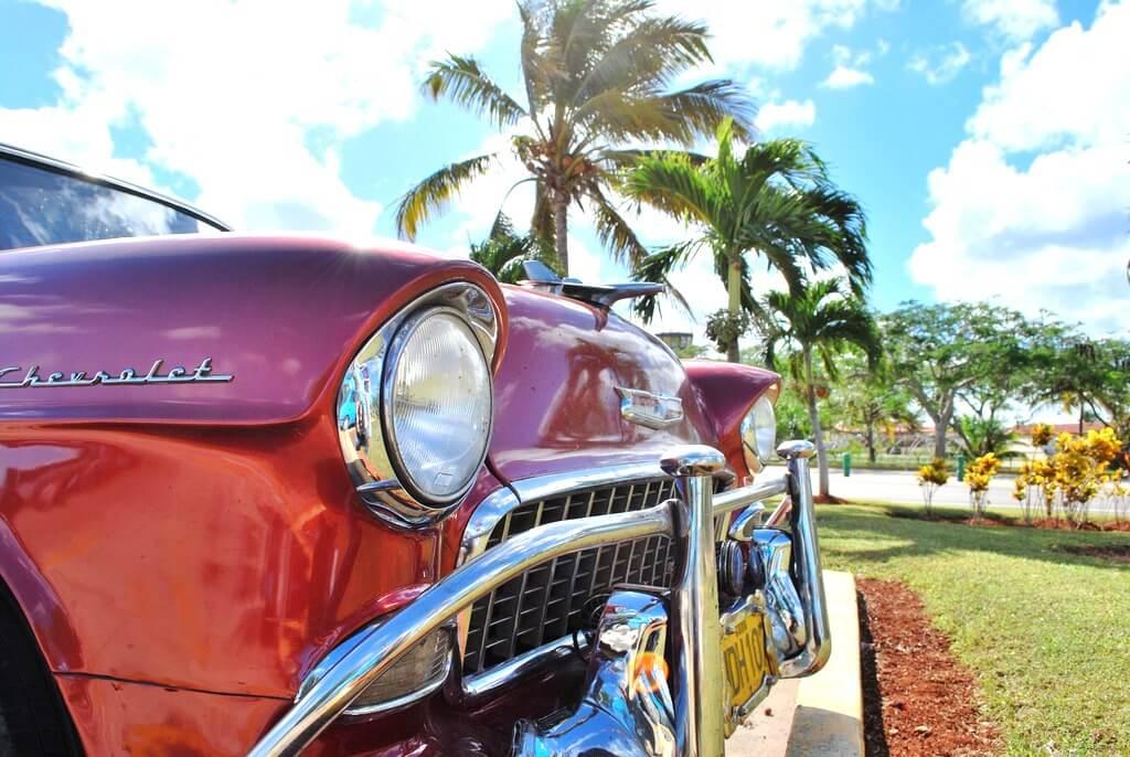 Cuba classic car RF