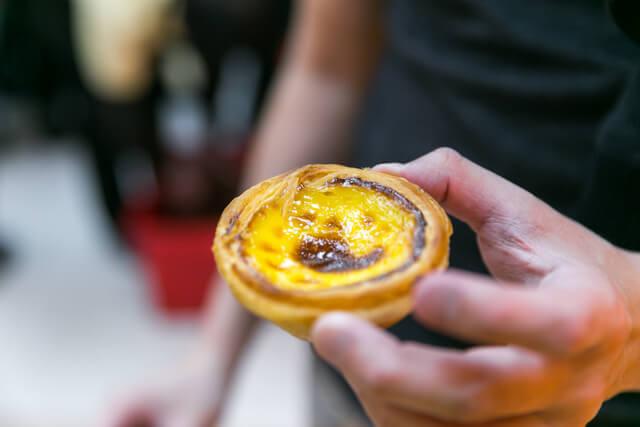 Portguese Egg Tart Macau
