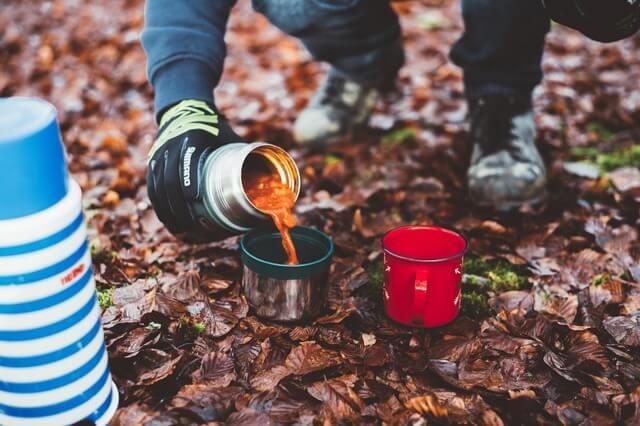 Camp food trek hiking hike RF
