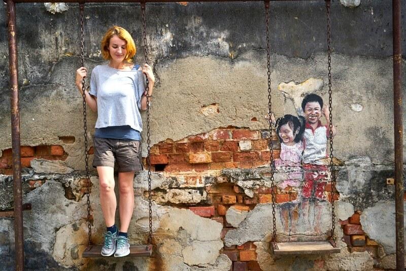 Malaysia street art RF
