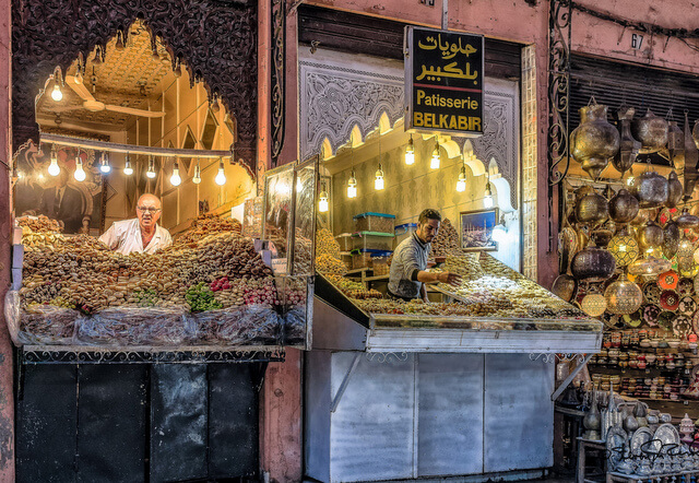 Marrakech Morocco Souk