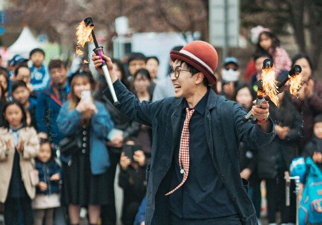 South Korea Street Performer RF
