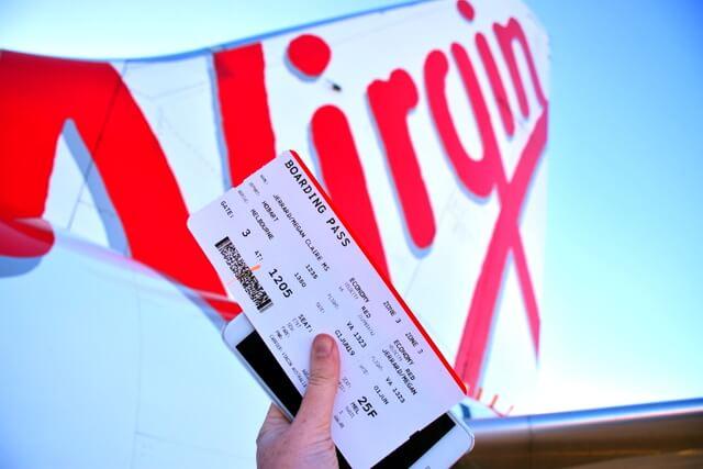 Virgin Australia Plane flight airport