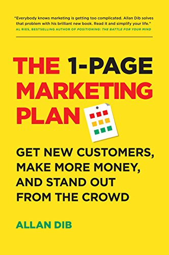 Marketing advice book