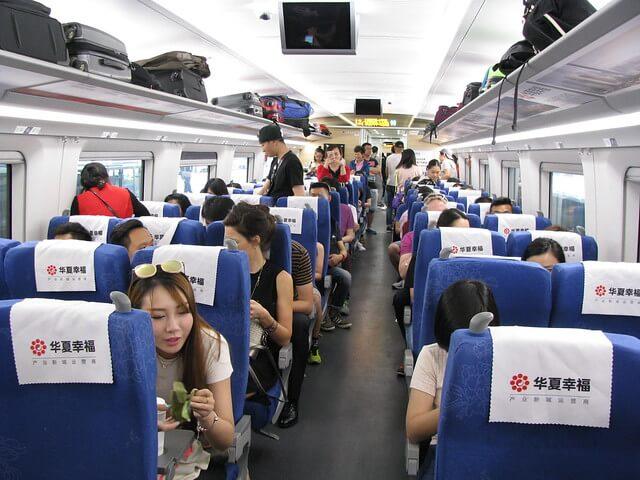 Beijing to Shanghai Train