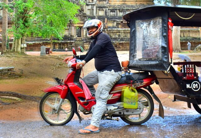 How to get around in Seim Reap tuk tuk Chuon Mr Hak