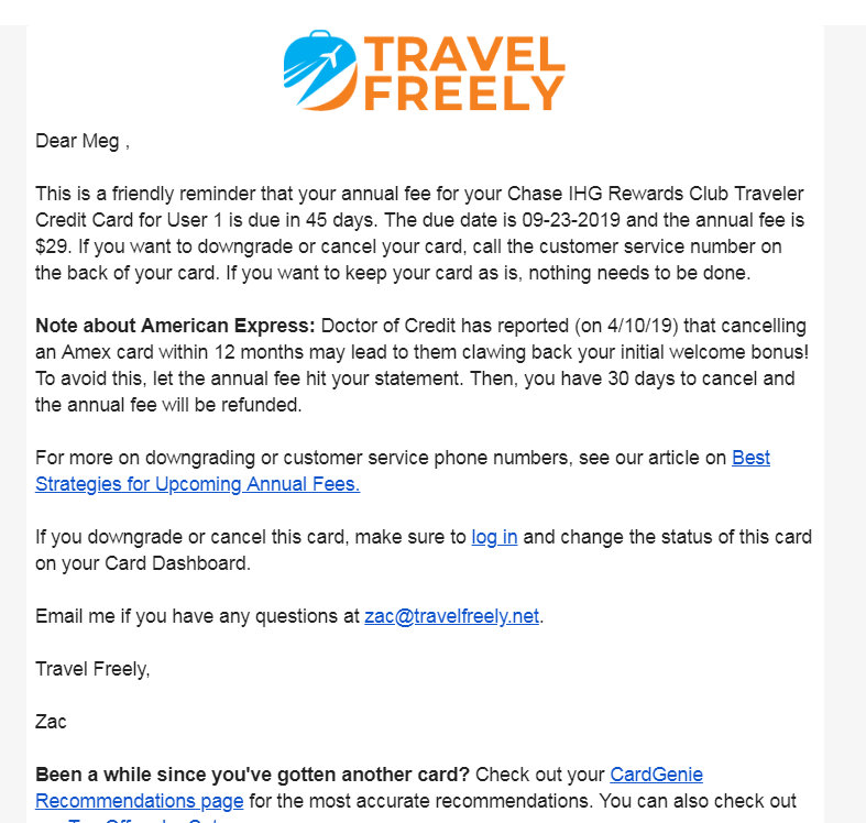 Travel Freely - the best credit cards for free travel