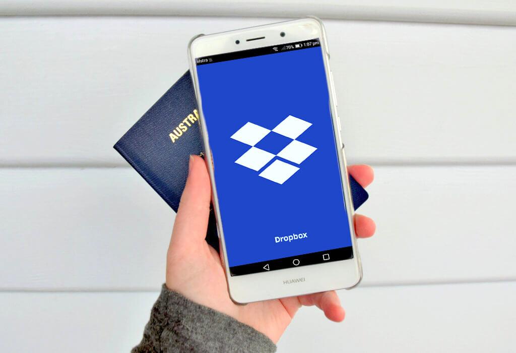 Dropbox phone passport