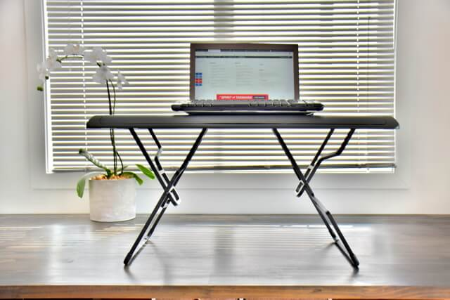 Varidesk Laptop 30 Review Compact Portable Standing Desk (13)