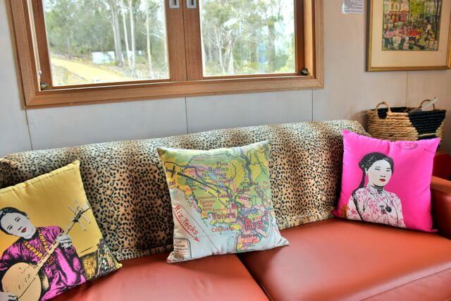 Free Spirit Eco Pods Where to Stay on North Bruny Island Tasmania