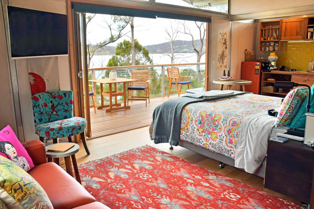 Free Spirit Pods Eco Accommodation Bruny Island