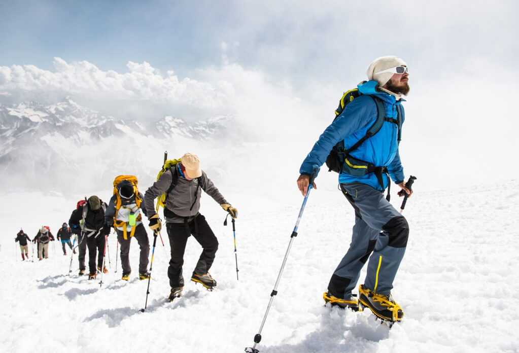 Mountain climbing RF