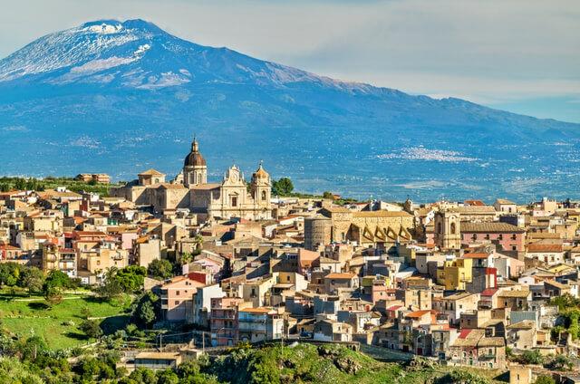 Mt Etna Sicily Italy RF