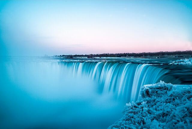 Niagara Falls at Sunset RF