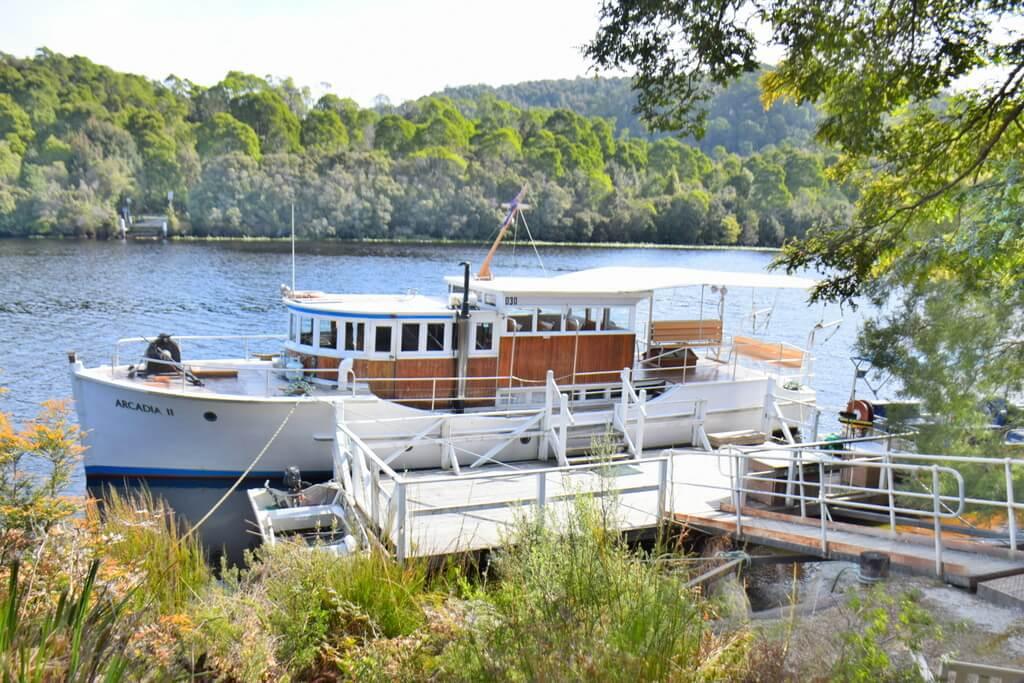Pieman River Cruise Corinna Tasmania