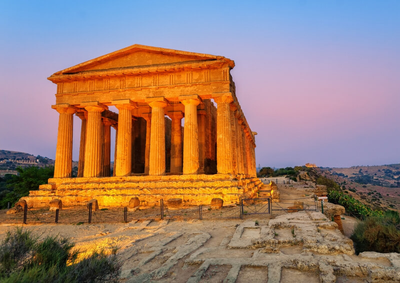 Sicily Historic Landmarks RF