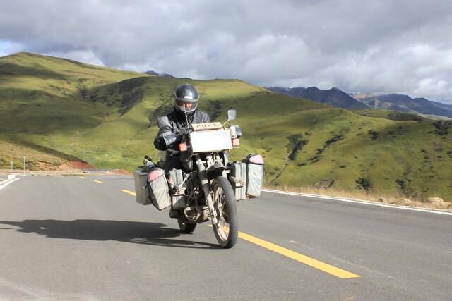 Biking china overland without a guide' (1)
