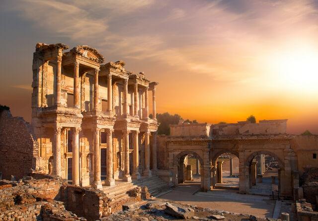 Ephesus Izmir Province Turkey RF
